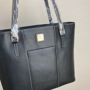 Dooney and bourke leather tote bag purse new